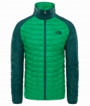 Kurtka Męska The North Face THERMOBALL SPORT primary green/botanical garden green