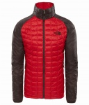 Kurtka Męska The North Face THERMOBALL SPORT rage red/bittersweet brown