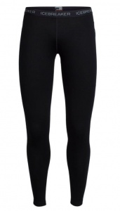 Kalesony damskie Icebreaker VERTEX LEGGINGS black S