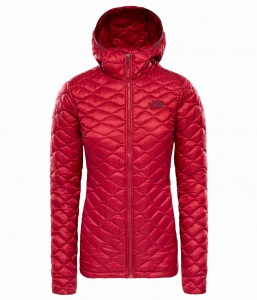 Kurtka Damska The North Face THERMOBALL HD rumba red