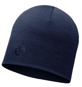 Czapka Buff WOOL HEAVY HAT solid denim