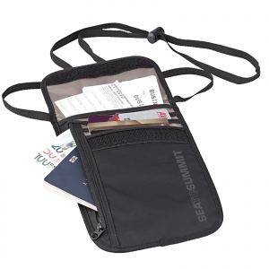 Saszetka Sea To Summit Neck Wallet 5 black