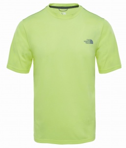 Koszulka Męska The North Face Reaxion AMP Crew dayglo yellow heather  S