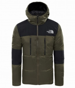 Kurtka Męska The North Face Himalayan Light Down Hoodie new taupe green/tnf black