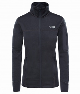 Polar Damski The North Face Kyoshi Full Zip Jacket dark grey heather