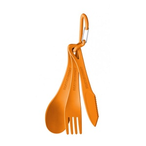 Niezbędnik Sea To Summit DELTA CUTLERY Set orange