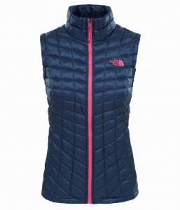 Kamizelka Damska The North Face Thermoball Vest ink blue