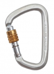 Karabinek Climbing Technology  Large Steel CF SG