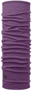 Chusta Buff  MERINO WOOL MID purple melange