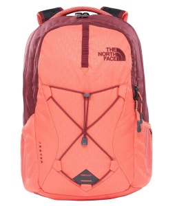 Plecak Damski The North Face Jester cayenne red emboss/regal red
