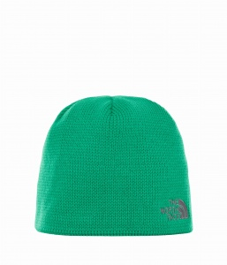 Czapka The North Face BONES BEANIE primary green/vanadis grey