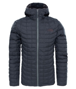 Kurtka Męska The North Face Thermoball HD tnf black/fusebox grey L