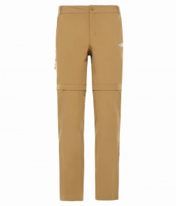 Spodnie Damskie The North Face Exploration Convertible Pant british khaki