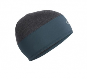 Czapka Icebreaker Tech Trainer Hybrid Beanie nightfall/jet heather