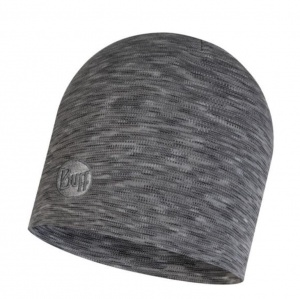 Czapka Buff WOOL HEAVY HAT fog grey multi