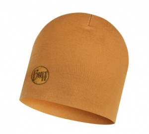 Czapka Buff WOOL HEAVY HAT solid camel
