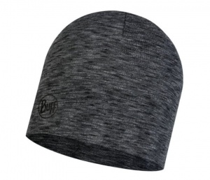 Czapka Buff WOOL HAT MID graphite multistripes