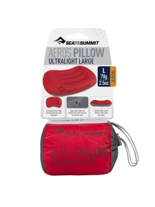 Poduszka Sea To Summit ULTRALIGHT PILLOW LARGE red