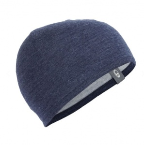 Czapka Icebreaker ADULT POCKET HAT midnight navy/gristone hthr