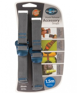 Troki Sea To Summit Accesory Strap With Hook 20 mm blue 1,5m