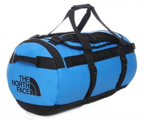 Torba The North Face Base Camp Duffel M clear lake blue/tnf black