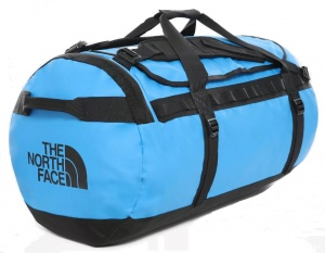 Torba The North Face Base Camp Duffel L clear lake blue/tnf black