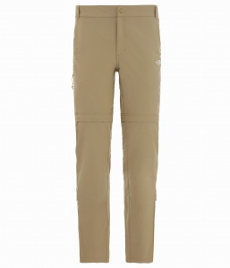 Spodnie Damskie The North Face Exploration Convertible Pant kelp tan