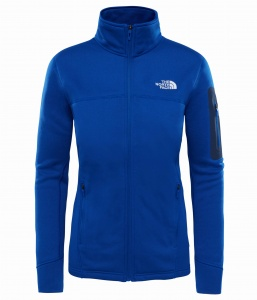 Polar Damski The North Face Kyoshi Full Zip Jacket  sodalite blue heather