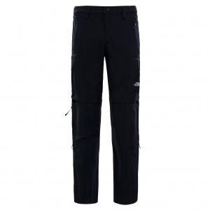 Spodnie Męskie The North Face Exploration Convertible Pant tnf black
