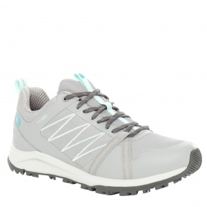 Buty damskie The North Face Litewave Fastpack II Waterproof griffin grey/dark shadow grey