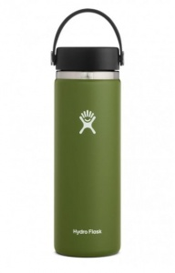 Butelka HydroFlask Wide Mouth olive 591 ml