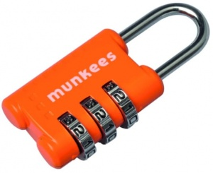 Kłódka Munkees 3604 Combination Lock 1 mix kolor