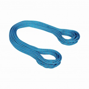Lina dynamiczna Mammut 9.5mm Crag Classic blue-white 50m