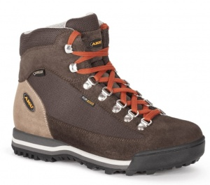 Buty Damskie Aku Ultra Light Micro Gore-Tex  dark brown/brick
