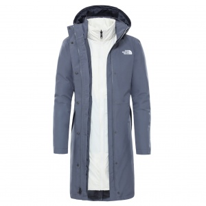 Płaszcz Damski The North Face Recycled Suzanne Triclimate™ grey/white