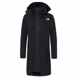 Płaszcz Damski The North Face Recycled Suzanne Triclimate™ black/black