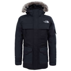 Kurtka Męska The North Face McMurdo Parka 2 tnf black/grey