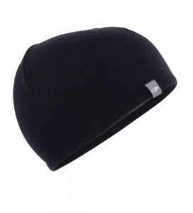 Czapka Icebreaker ADULT POCKET HAT black/gristone hthr