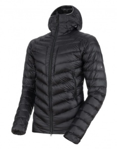 Kurtka Męska Mammut BROAD PEAK IS HOODED black/phantom