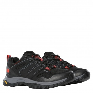 Buty Damskie The North Face Hedgehog FL tnf black/horizon red