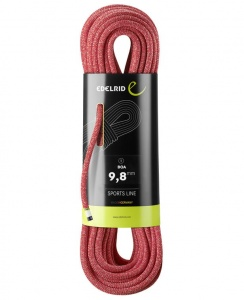 Lina Edelrid 9,8mm Boa 60m red