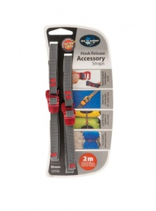 Troki Sea To Summit Accesory Strap With Hook 10 mm red 2 m