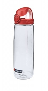 Butelka Nalgene OTF Bottle 0,7L clear/red