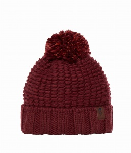Czapka The North Face COZY CHUNKY BEANIE barolo red