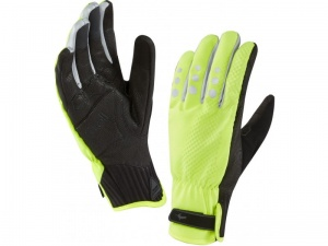 Rękawice Sealskinz All Weather Cycle XP Glove L żółte
