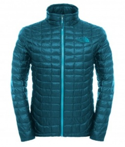 Kurtka Męska The North Face Thermoball Full Zip depth green