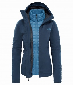 Kurtka damska The North Face THERMOBALL TRCM JKT ink blue L