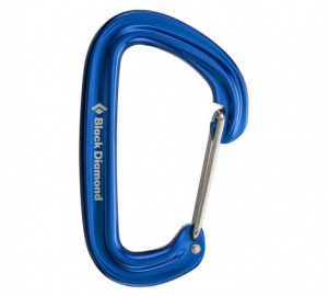 Karabinek Black Diamond Neutrino Wire Gate blue