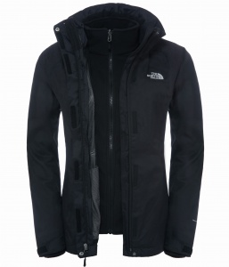 Kurtka Damska The North Face EVOLVE II Trcm tnf black/tnf black