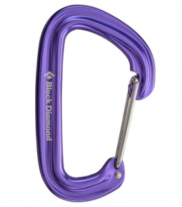 Karabinek Black Diamond Neutrino purple